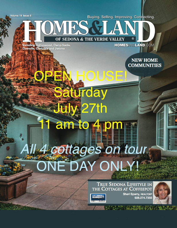 Open house Saturday July 27 - West Sedona