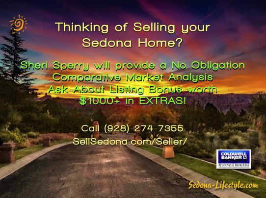 Seller Bonus Sheri Sperry list agent Coldwell Banker Sedona