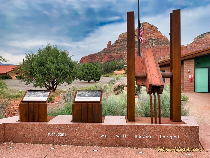 Sedona Fire District Fire Station 6 911 Artifact Memorial
