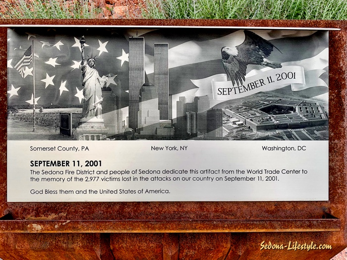 Sedona Fire District 911 Artifact and Memorial