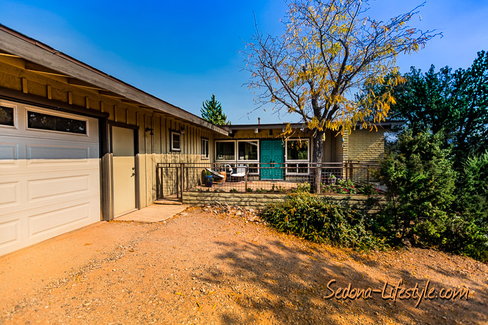 Sedona privacy on over an acre