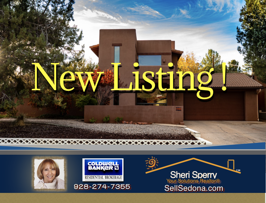 New Listing for sale in uptown Sedona short term rentals