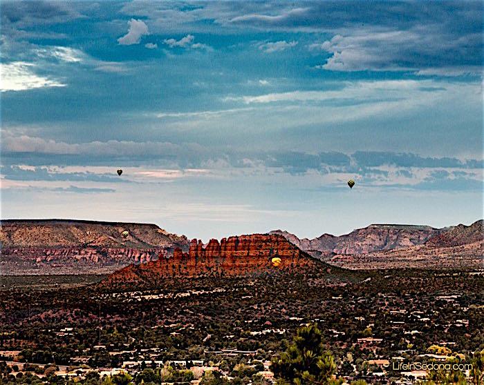 Hot-Air-Balloon Rides ~ Sedona Style!
