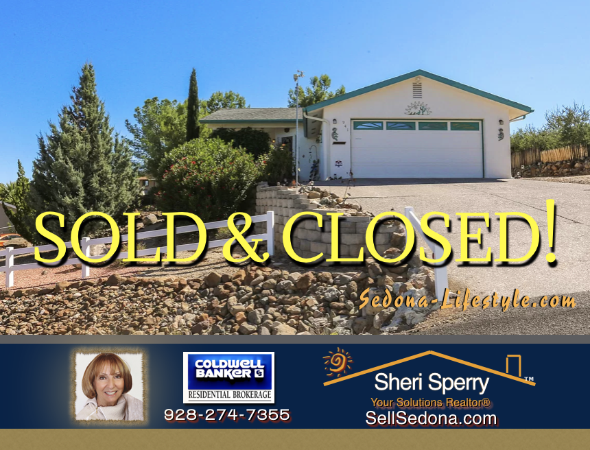 Sold and Closed Cottonwood AZ Brought Buyers