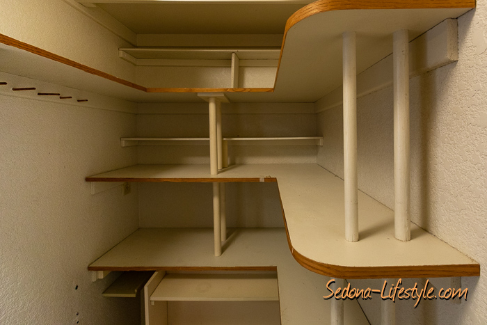 walkin pantry storage