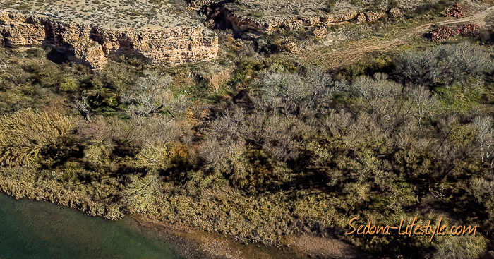 Camp Verde riverfront riparian meander land