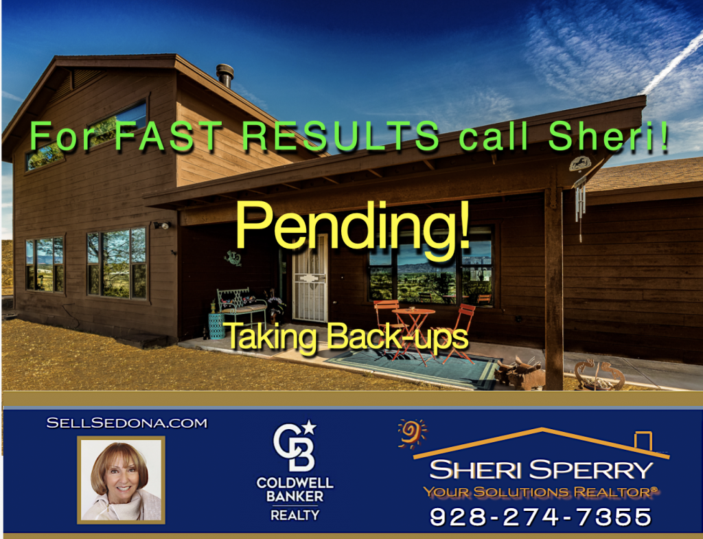 Another horse property in contract by Sheri Sperry of Coldwell Banker Realty