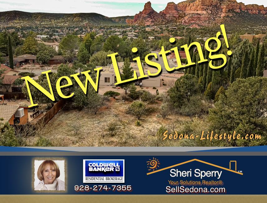 New Listing at 1015 Lee Mountain Rd Sedona AZ 86351