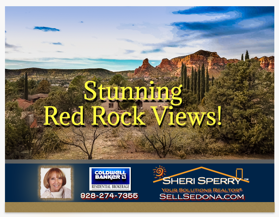 Stunning Red Rock Views Lee Mountain Rd Sedona