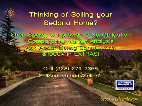 Thinking of selling your Sedona Home?