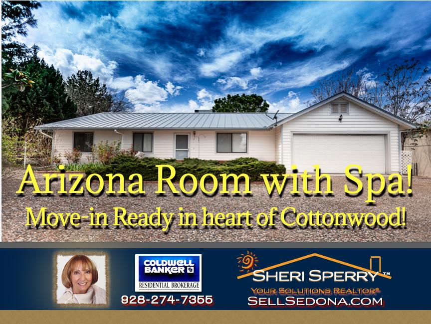 Arizona Room in the hear of Cottonwood!