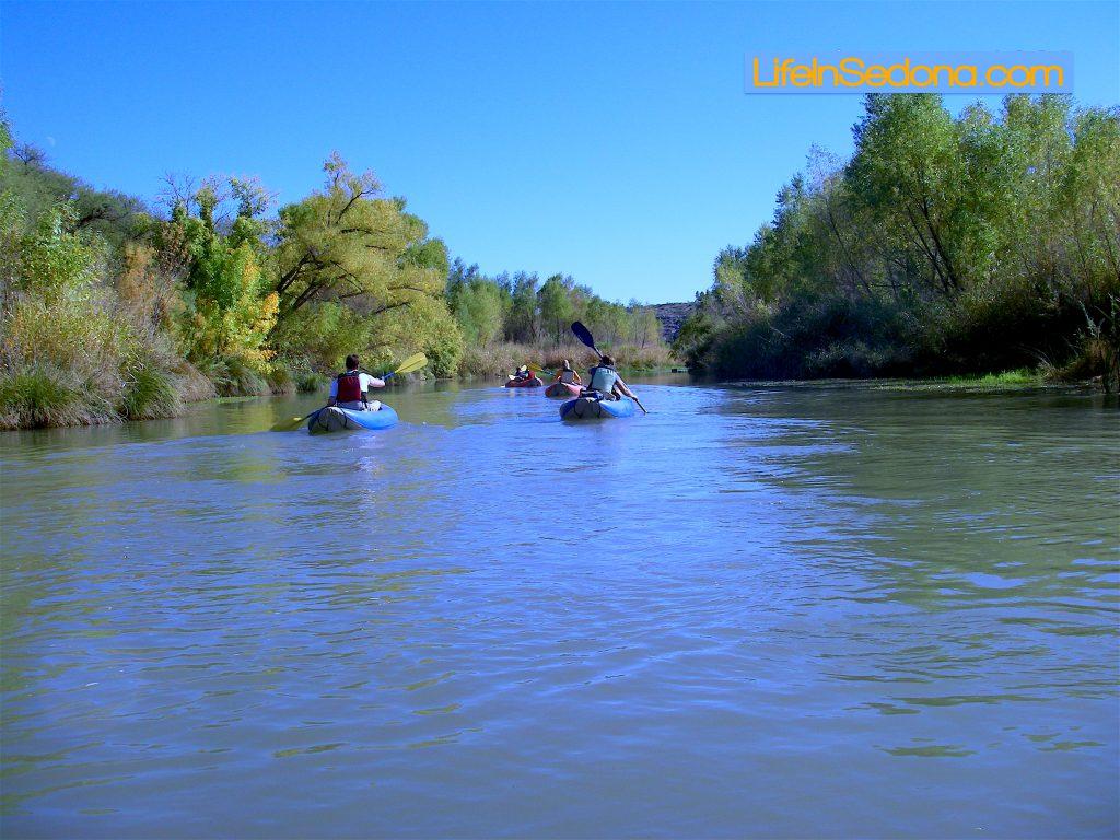 Verde River rafting
