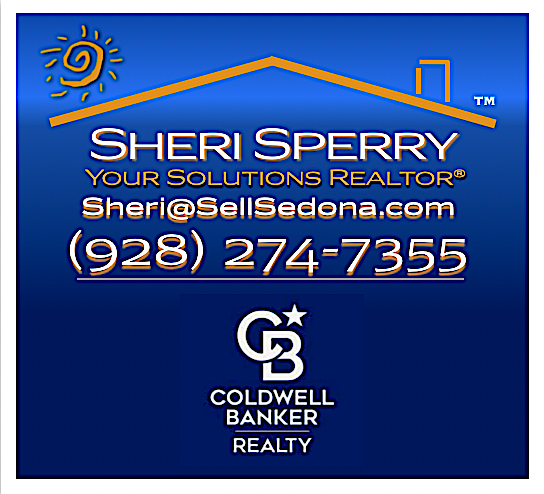 Sheri Sperry REALTOR - Coldwell Banker Realty 928-274-7355