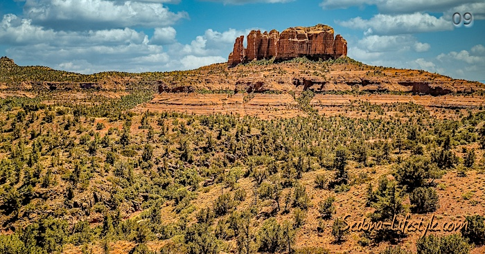 Cathedral Rock Back O Beyond