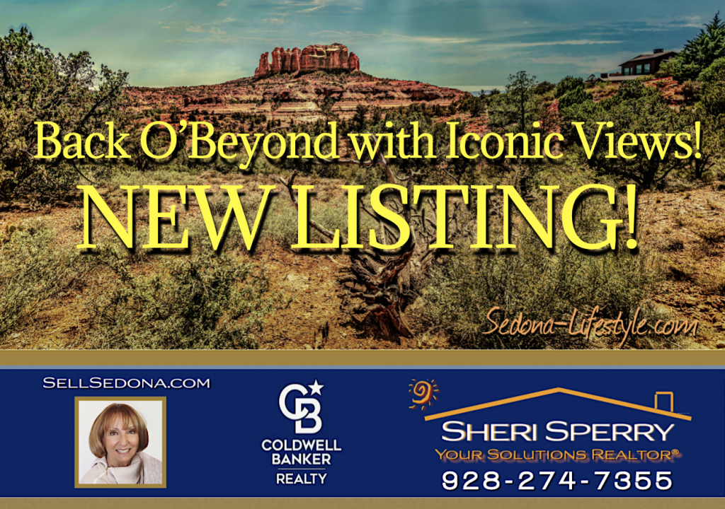 NEW LISTING Sheri Sperry Coldwell Banker Realty Top Realtor Sellsedona.com