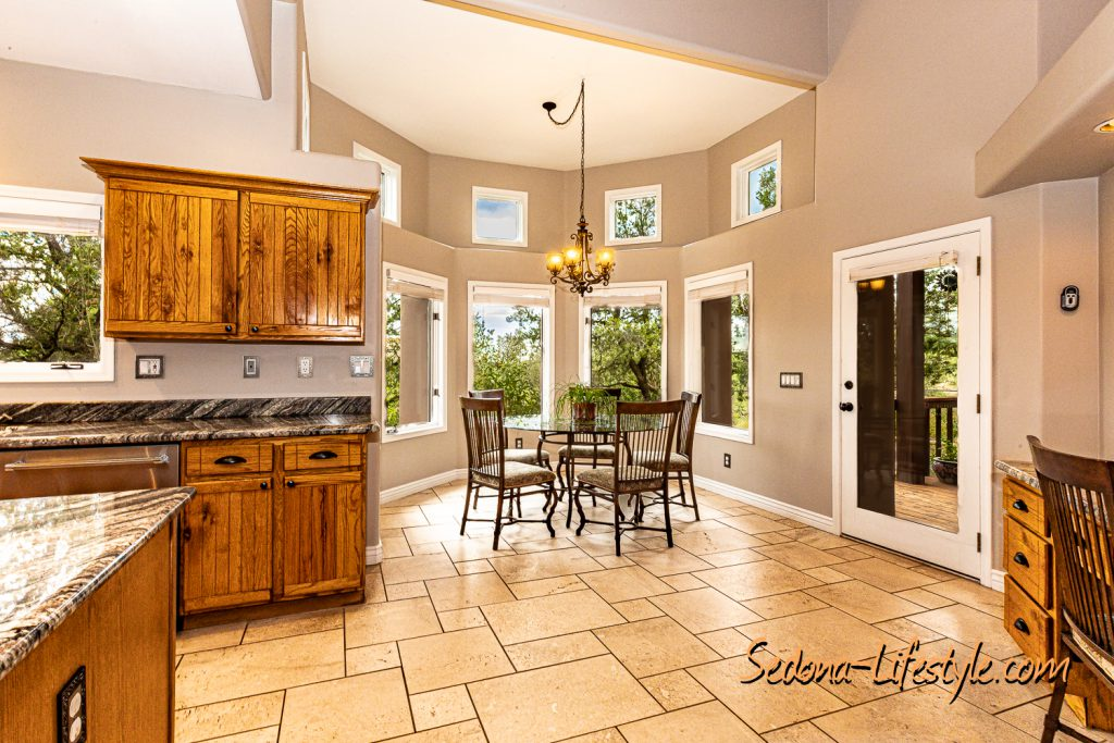 Kitchen Eating Area Living Room - Courtyard - Sheri Sperry Coldwell Banker Realty List Agent