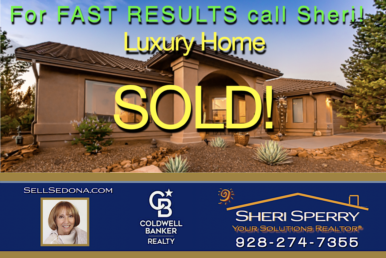 Another Quail Run West Sedona luxury home sold by Sheri Sperry Sellers