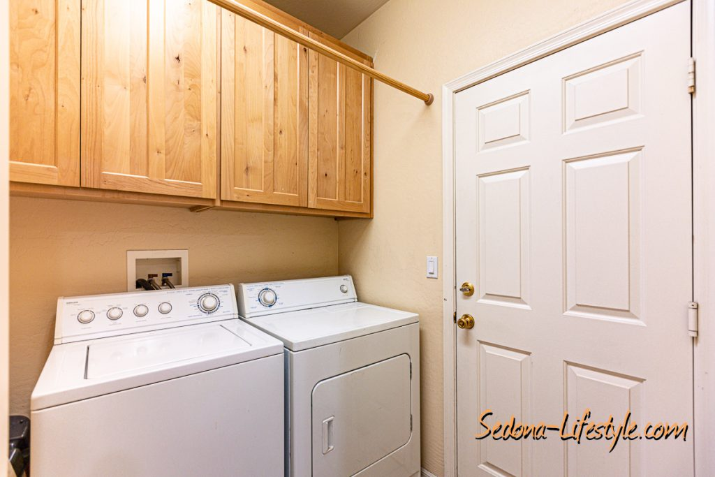 utility room Sedona Golf Resort home offered by Sheri Sperry