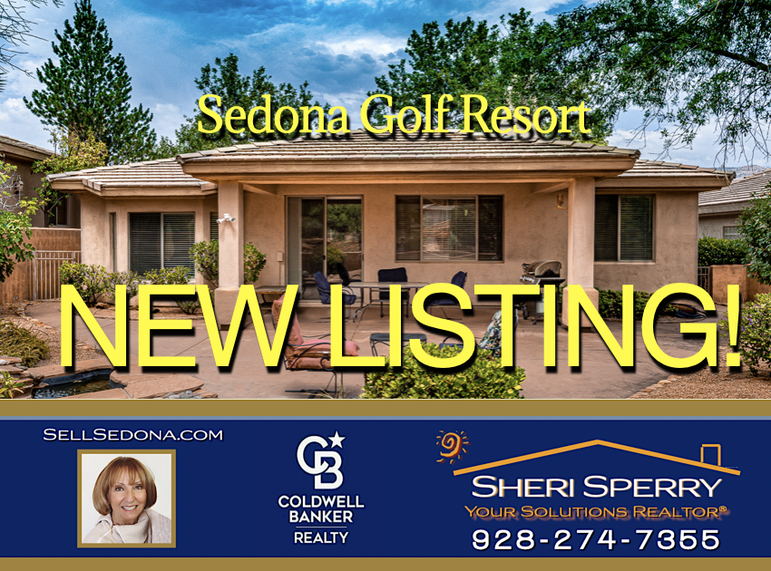 New Listing Great rental potential - 110 E Bighorn Ct Sedona AZ 86351 - presented by Sheri Sperry