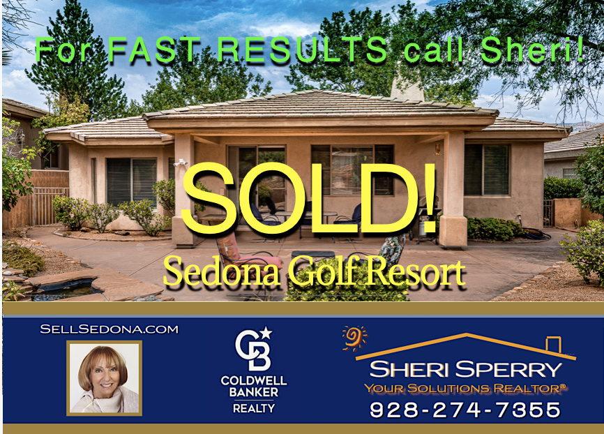 SOLD ! For Fast Results call Sheri Sperry 928-274-7355 Coldwell Banker Realty