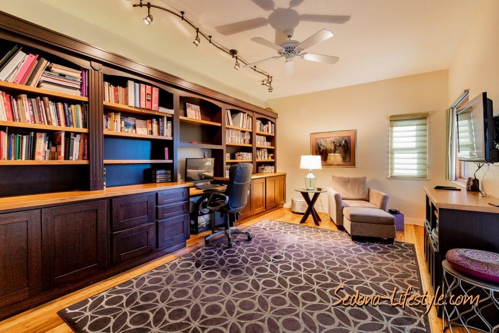 Office - Bedroom 1406 Vista Montana - Sheri Sperry SellSedona.com Coldwell Banker