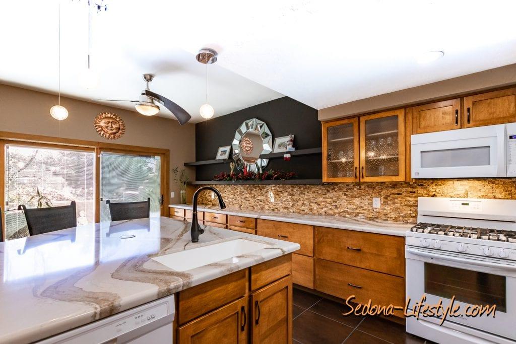 Cambria engineered quartz 1406 Vista Montana - Sheri Sperry SellSedona.com Coldwell Banker