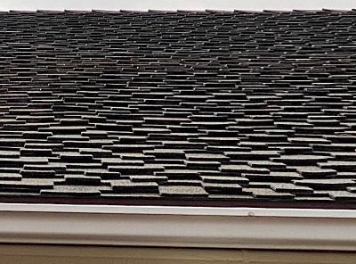 Composite fire-retardant roof shingle