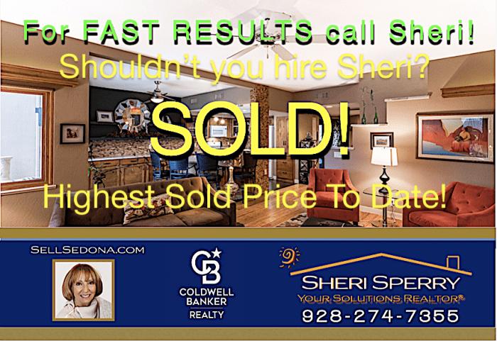 Vista Montana - Hiughest Sold Price in Vista Montana to date!