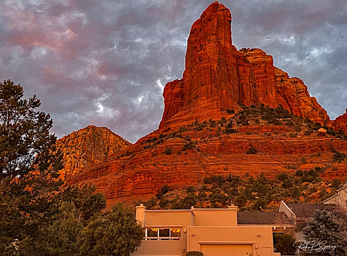 Magic Hour - Cottages At Coffeepot - Soldiers Pass Sedona AZ