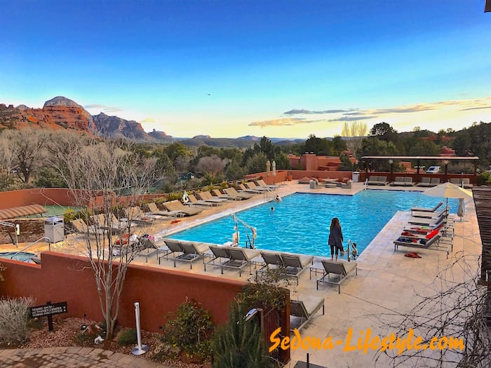 Enchantment Resort - Sedona Weather during winter