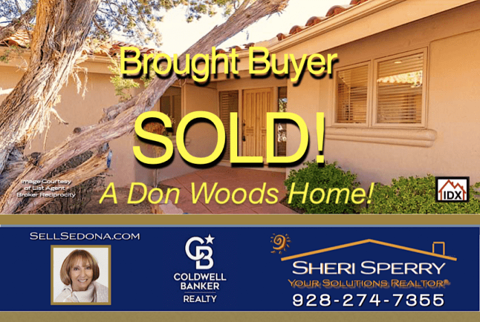 SOLD - A Don Woods Home Sold by Sheri Sperry A top tier marketing REALTOR and member of the International Presidents Circle