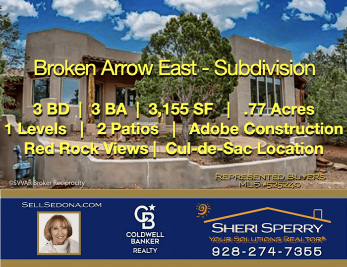 Want Sedona real estate results? Call Sheri Sperry 928.274.7355