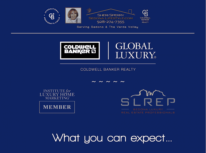 Sheri Sperry - Luxury Real Estate Professional Coldwell Banker Global Luxury - Sedona Luxury Real Estate Professional - Master Certified Negotiation Expert