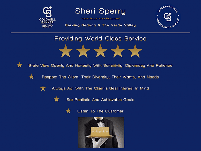 Sheri Sperry - World Class Service - Bespoke Service