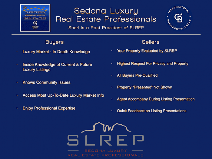 Sheri Sperry - Past President of the Sedona Luxury Real Estate Professionals