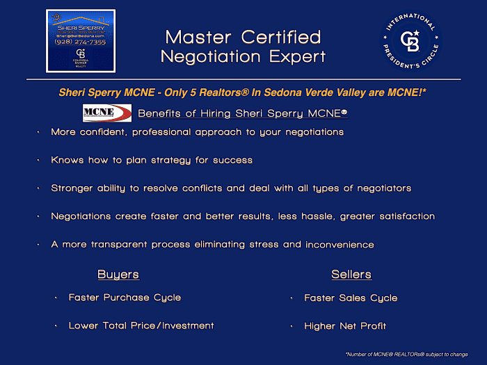 Sheri Sperry - Master Certified Negotiation Expert