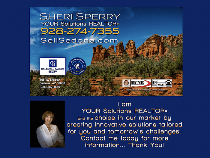 Call Sheri Sperry for all your luxury real estate needs