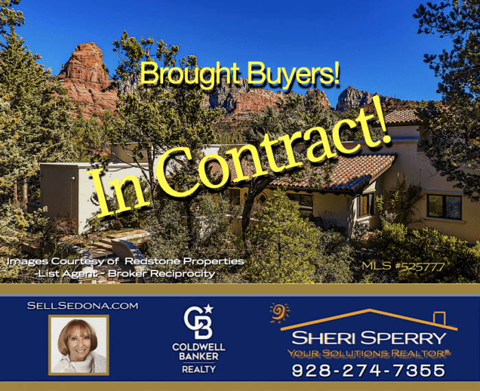 In Contract Luxury Spanish Home Luxury Homes Soldiers Pass - Brought buyers - Sheri Sperry Coldwell Banker Realty 928.274.7355