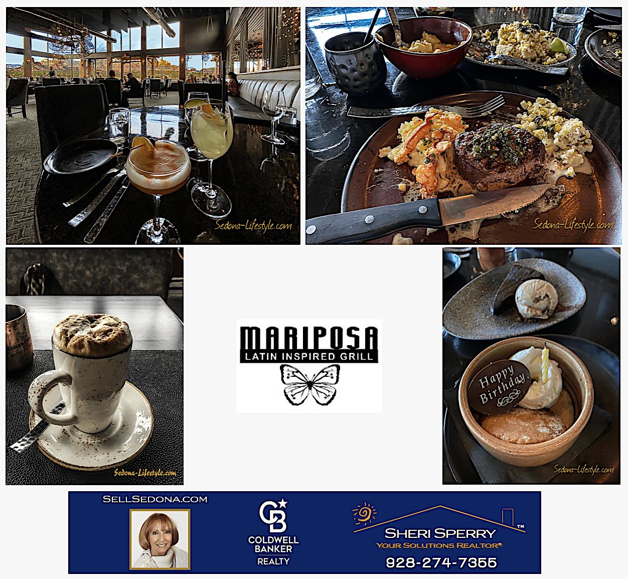 delightful cuisine with latin flair SellSedona.com Mariposa