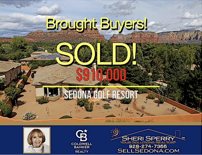 Another Luxury Sedona Golf Resort Home SOLD by Sheri Sperry