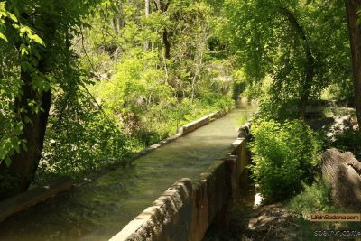 Old Town Cottonwood AZ Irrigation Canal
