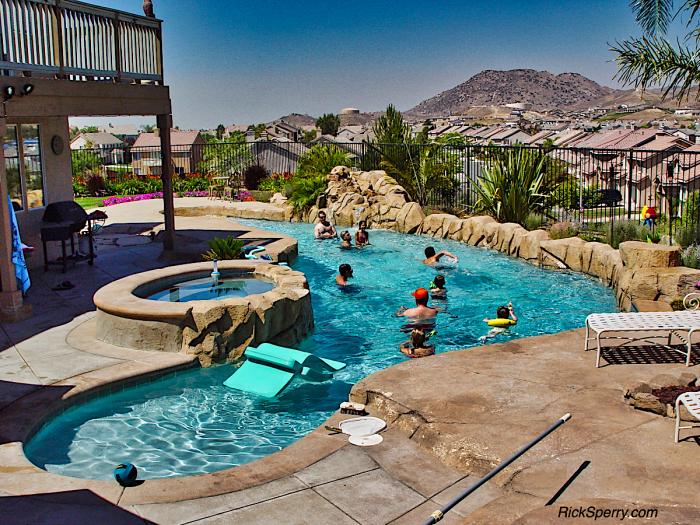 Summer Pool Fun - Sheri Sperry - SellSedona.com