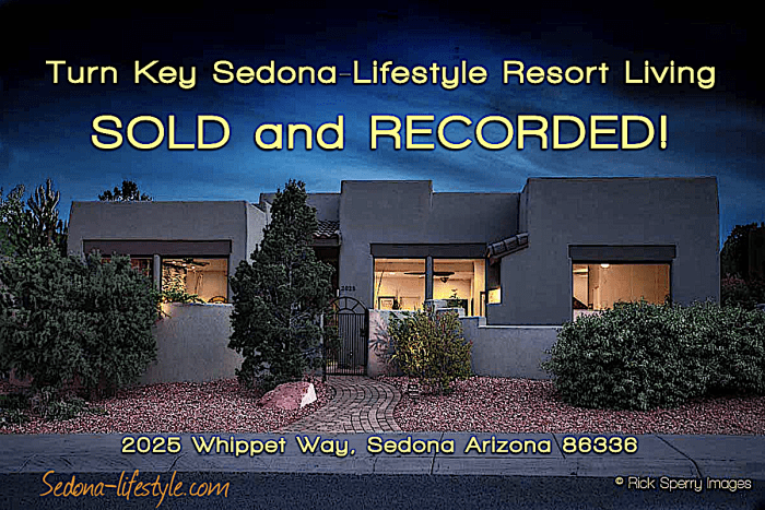 West Sedona Home for Sale Sold by Sheri Sperry of Coldwell Banker