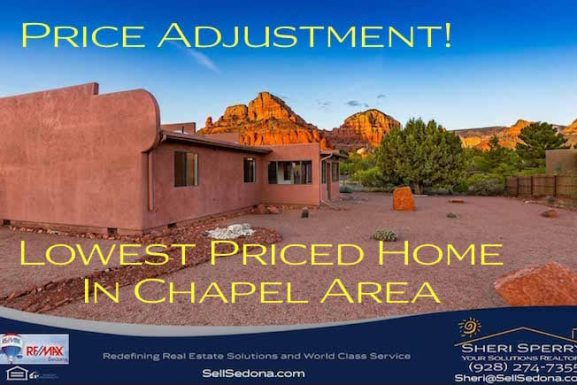 FOR SALE! ~ 11 Meadow Lark Dr. Sedona AZ 86336 ~ Price Reduced!