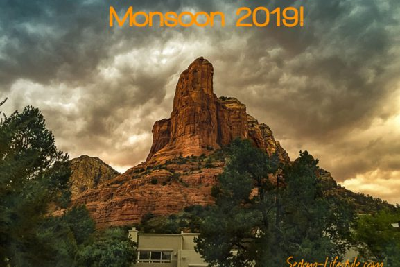 Sedona September Weather Recap –  Monsoon 2019 – In the Books