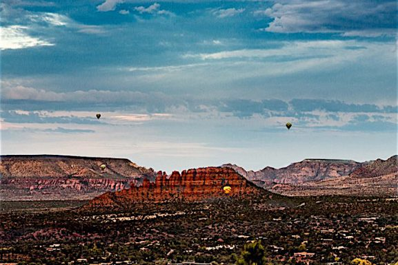 Hot-Air-Balloon Rides ~ Sedona Style!