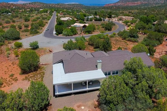 Michaels Ranch – Sweeping Views – Privacy and Quiet – Just Minutes From The Sedona City Center