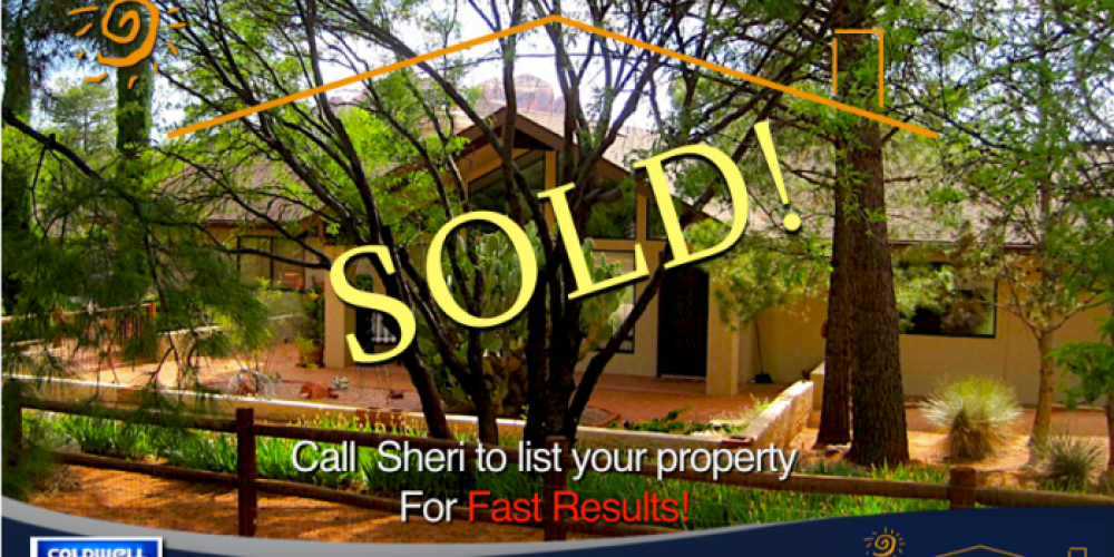 List your Sedona home with listing agent Sheri Sperry Coldwell Banker