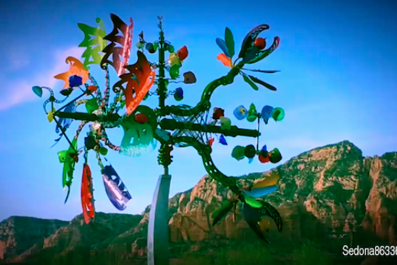 Interactive Art Video – Sedona Style