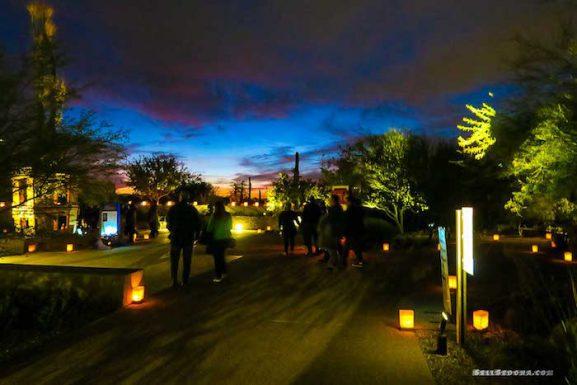 Desert Botanical Gardens – Las Noches de las Luminarias